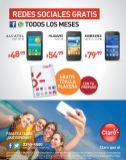 smartphone ALCATEL desde 48.99 gracias CLARO elsalvador