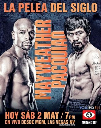 BOXING time show Mayweather vs Pacquiao HD stream signal