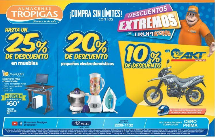 Compra sin limites xtreme Discounts tropigas elsalvador - 15may15