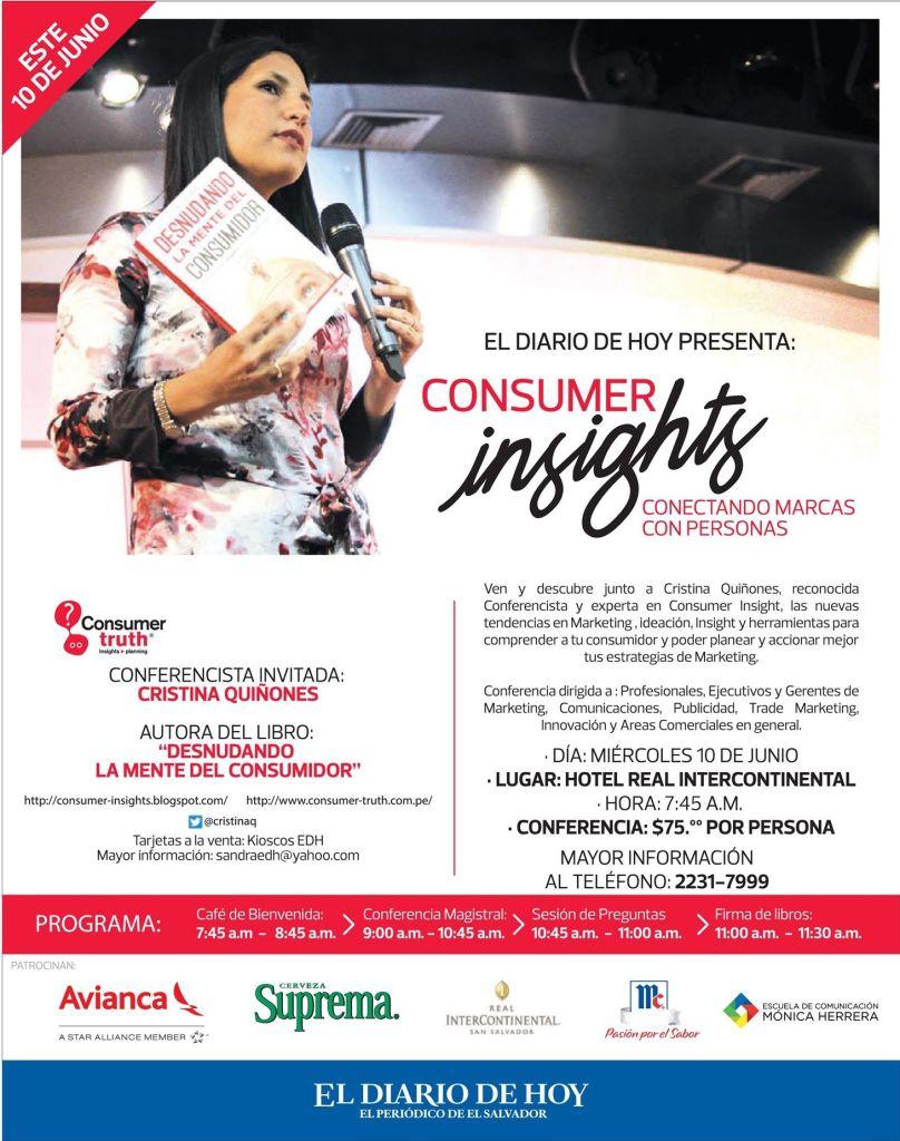 Consumer truth TIPS seminar international