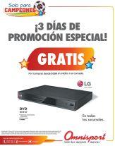 DVD gratis por tus compras en OMNISPORT - 29may15