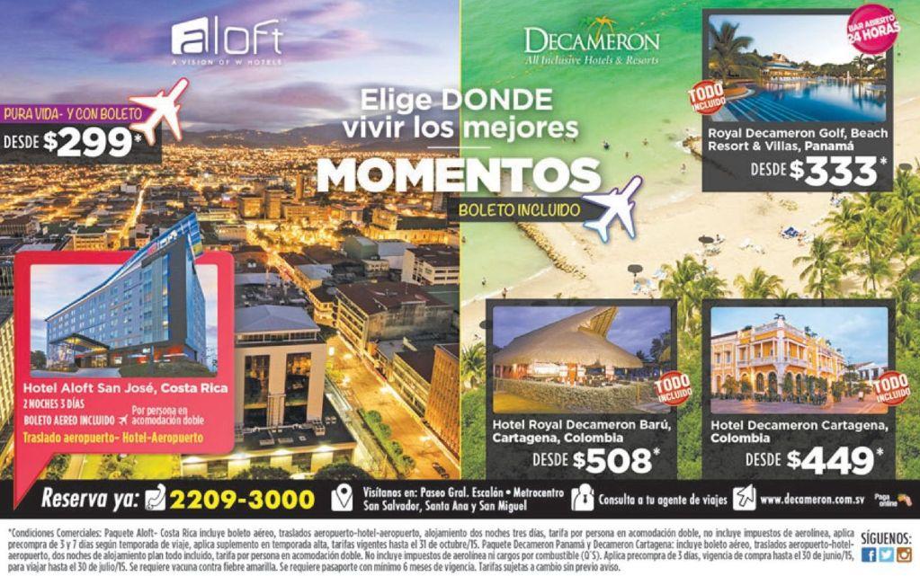 Decameron hotels LATINOAMERICA beach resort travel promtoions