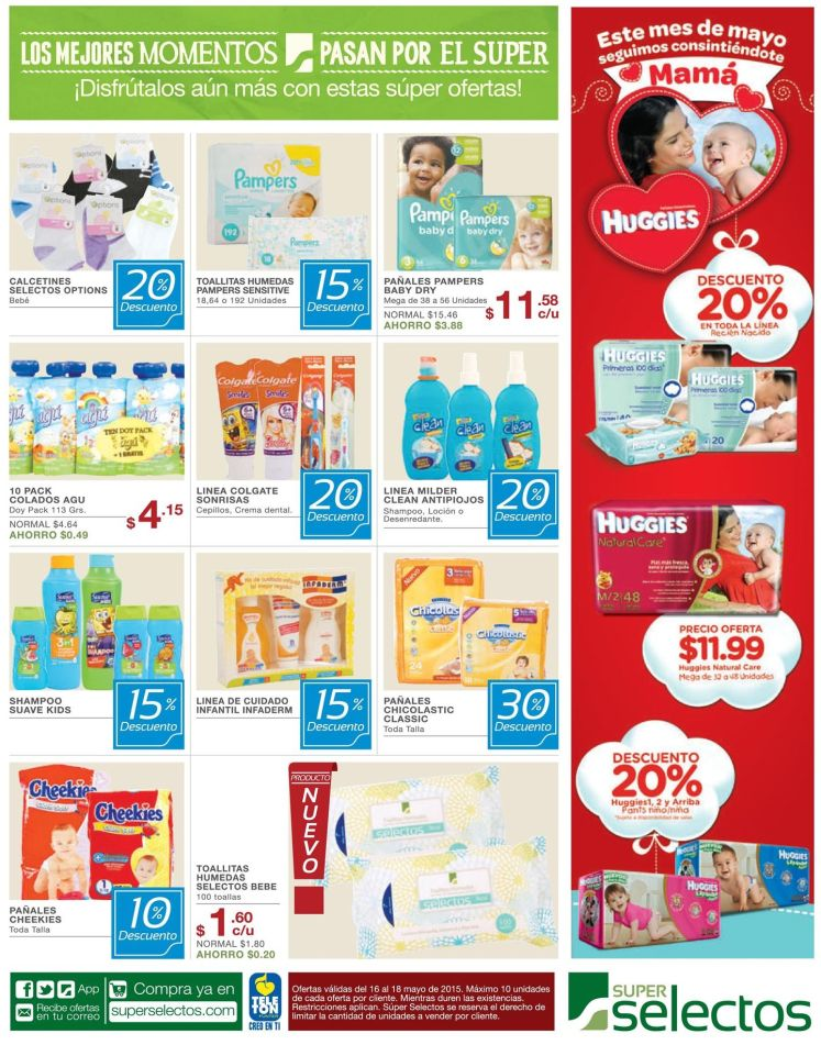 Descuentos for BABIES and KIDS super selectos