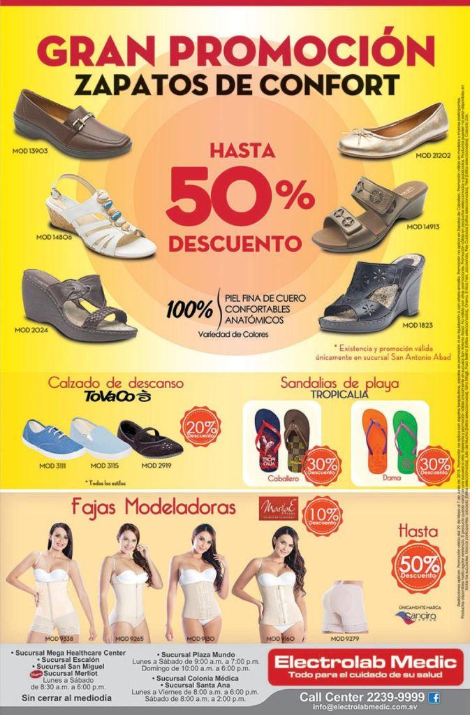 GRAN promocion en zapatos de comfort y medicados