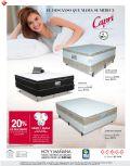 GRATIS una vajilla por compras de camas CAPRI siman promociones - 09may15