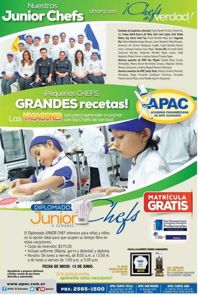 Junior CHEF and Master CHEF APAC academy