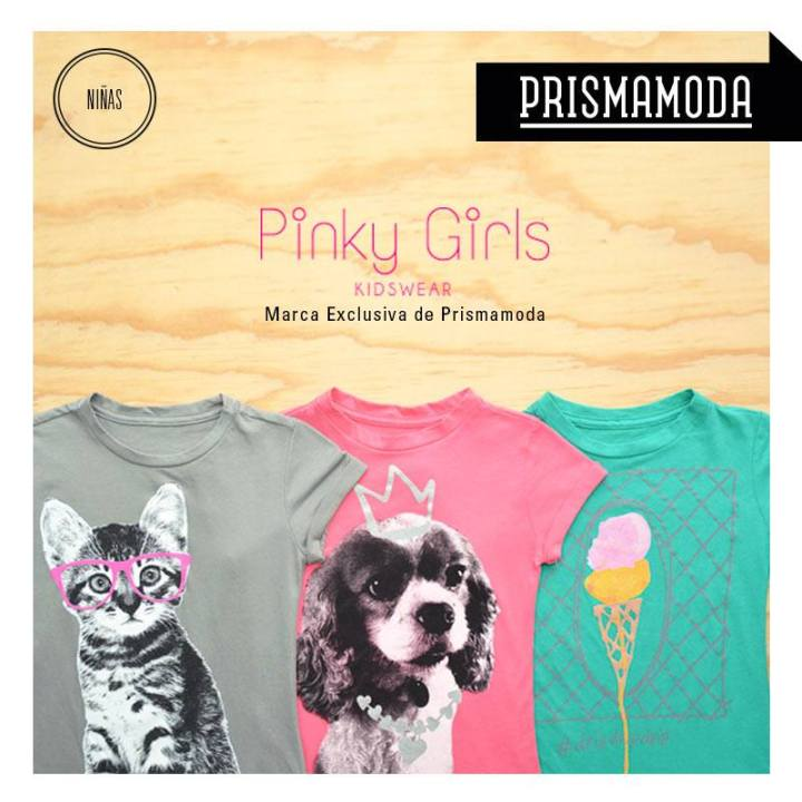 Kids wear OFFER Pinky Girls buscalas en prisma moda