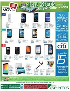 Los celulares mas baratos y econmicos en super selectos - 16may15