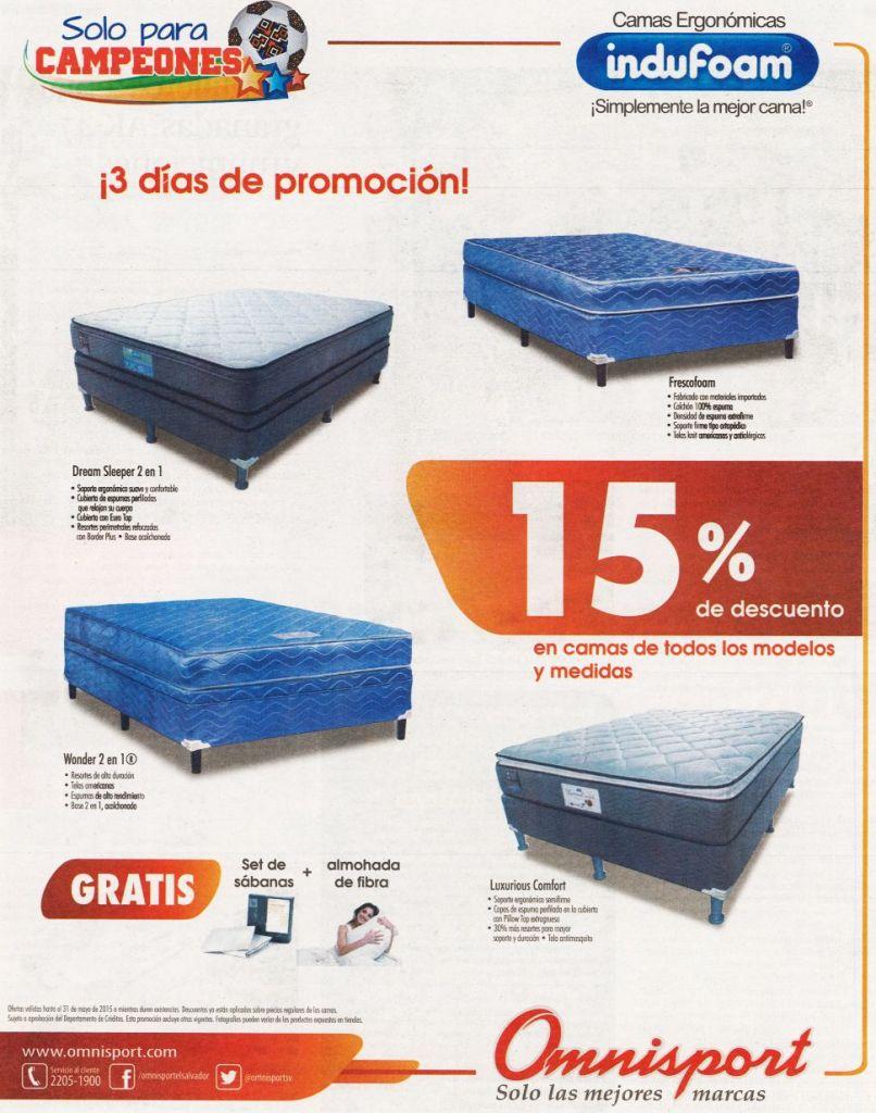 MIRA omnisport 3 dias de promocion en camas - 29may15