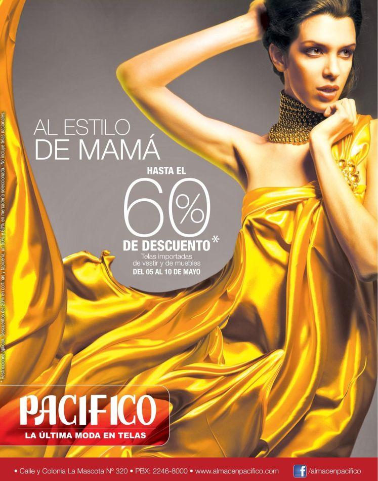 PACIFICO la ultima moda en telas para MAMA