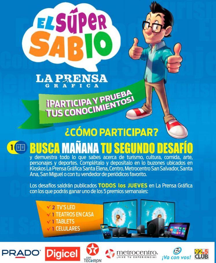 Premios participando con EL SUPER SABIO de la prensa grafica