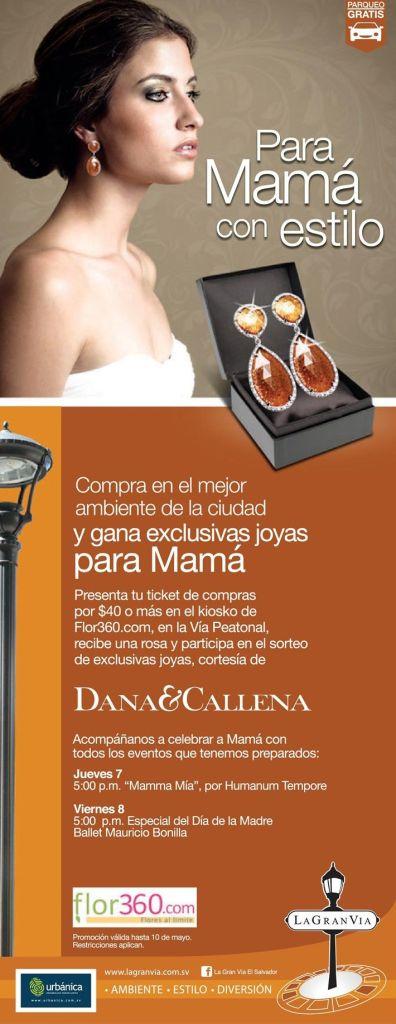 Promociones en joyas para MAMA en La gran via - 07may15