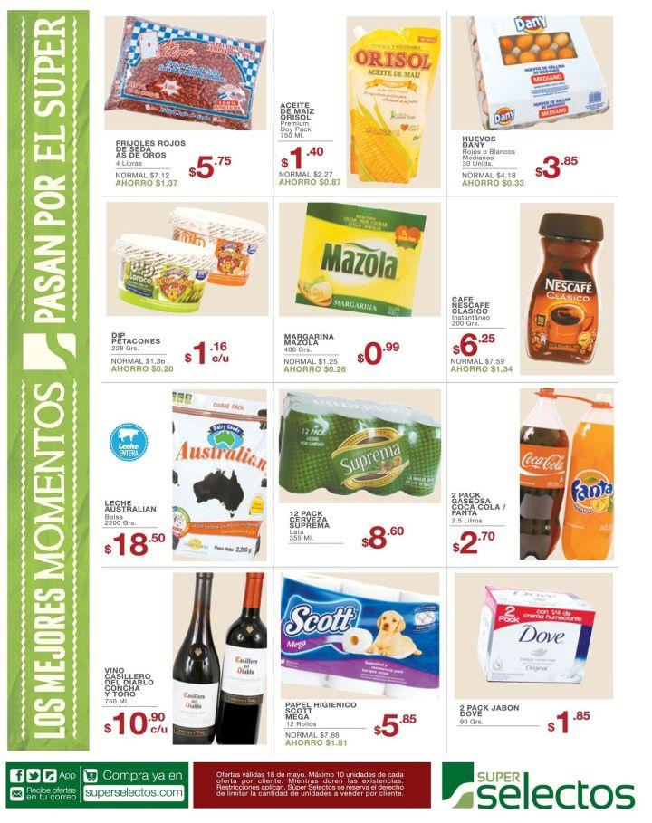 Super Selectos ofertas del dia lunes - 18may15