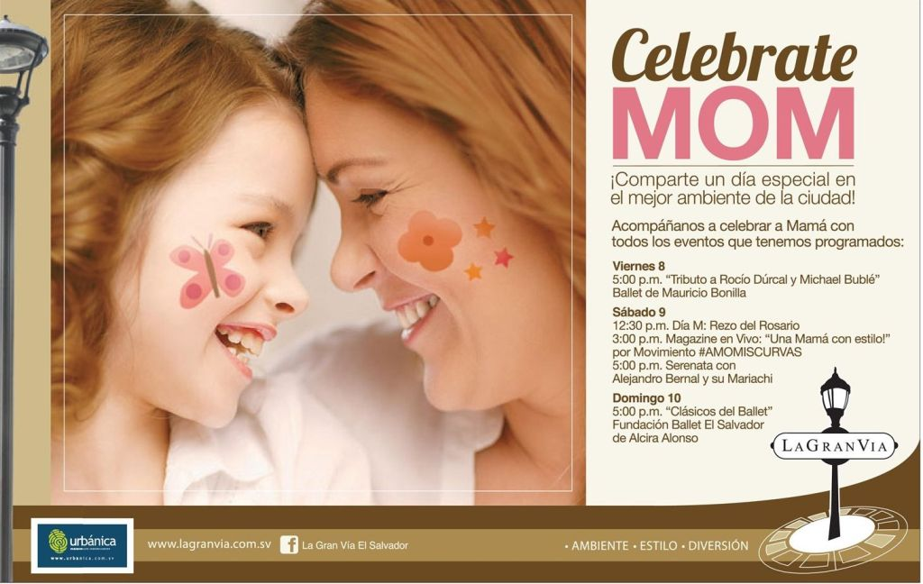 celebrate with MOM shopping and gifts - 08may15