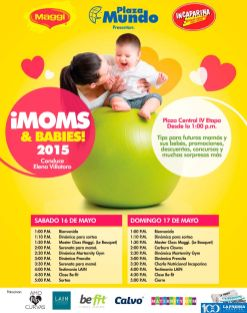 este finde MOMS and babies 2015 eventos Plaza Mundo