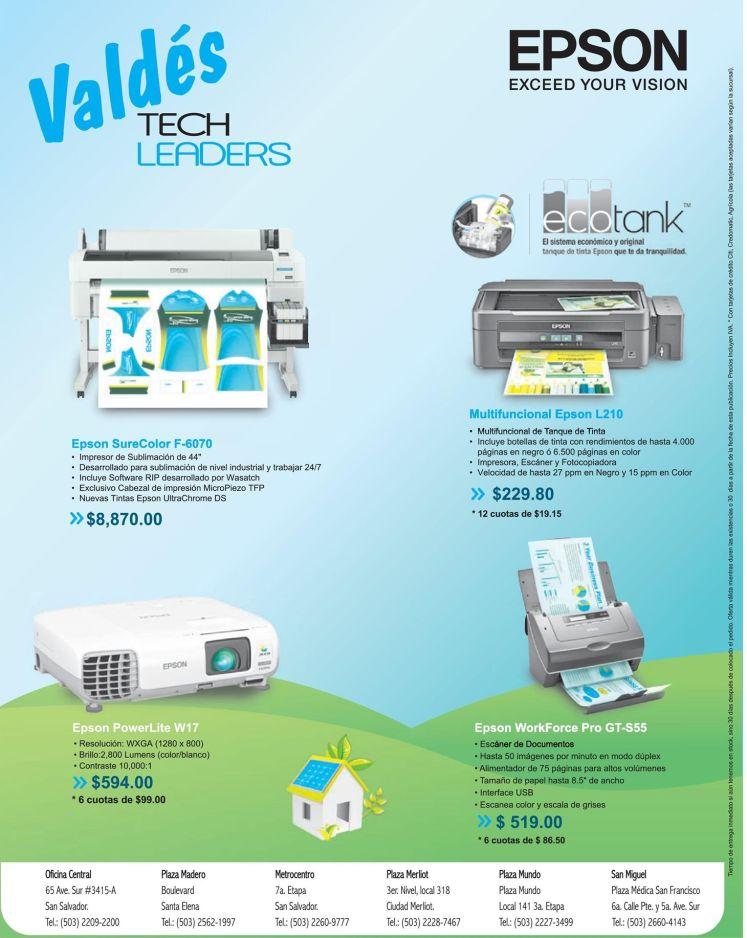 impresion tecnologia con ofertas