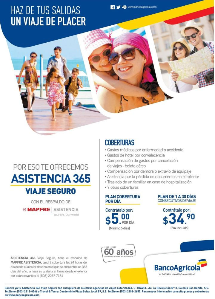 insurance travel for family MAPFRE aseguradora
