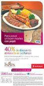 40 OFF Descuento en la deliciosa carne de la pampa con scotibank