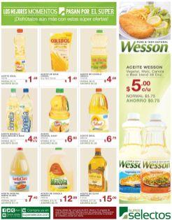Aceite vegetal WESSON maiz canola or best blend