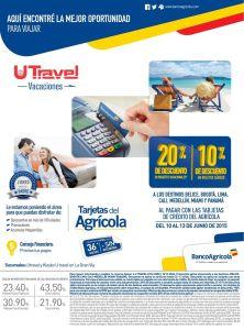 Comprar paquetes de vacaciones con DESCUENTO banco agricola