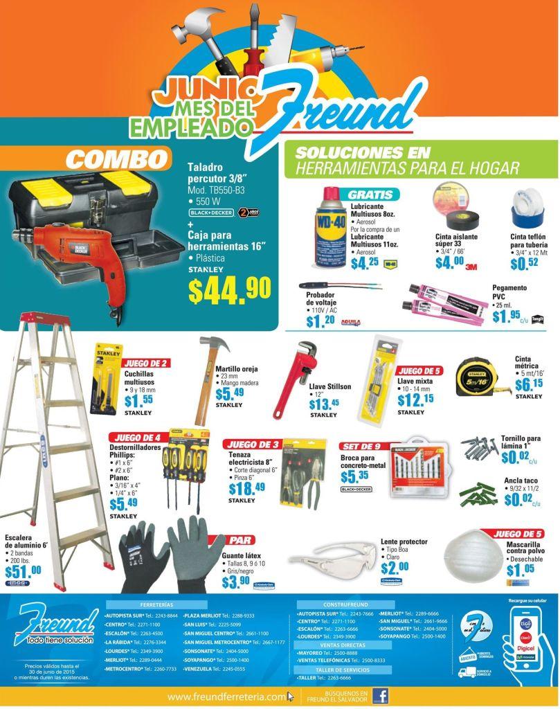 Dale una visita a FREUND para ver estas herramientas - 15jun15