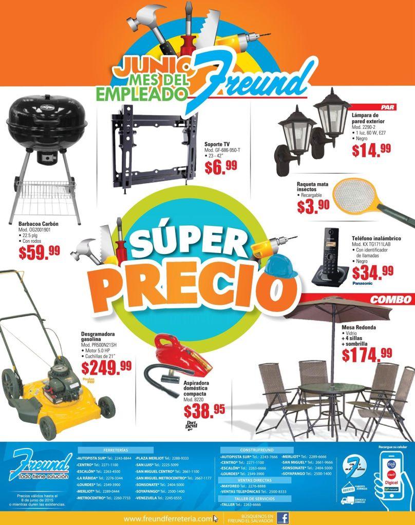Descuentos en productos de jardineria y terraza - 01jun15