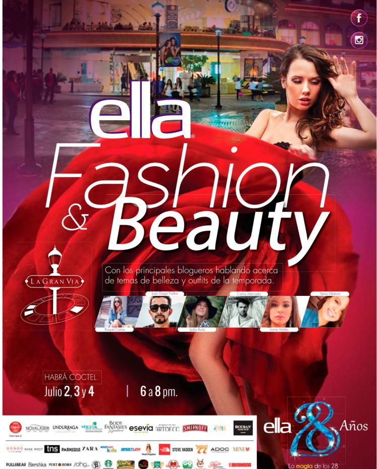 ELLA magazine Fashion and Beauty pasarella