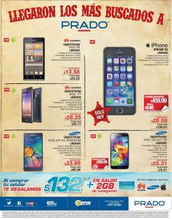 Los celulares mas buscados en PRADO ofertas smartphones