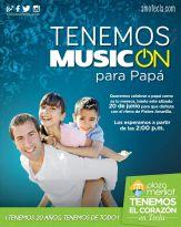 Musicon para PAPA con la fiebre amarilla en PLAZA MERLIOT - 19jun15