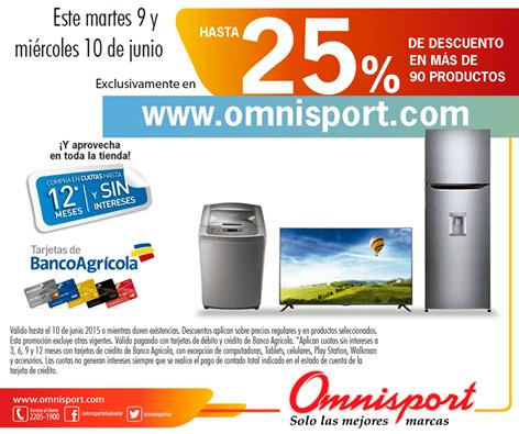 ONLINE disocunt for shopping OMNISPORT 25 OFF - 10jun15