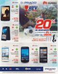 PRADO ofertas Celulares TABLETS and smartphone HUAWEI con 20 OFF