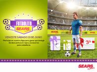 Promocion FUTBOLITO Sears y gana descuentos - 10jun15