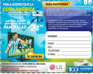 WIN bill to copa america 2015