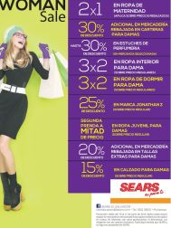 WOMEN SALE promociones para ella en SEARS- 20jun15