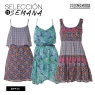 look tribal vestidos de colores PRISMA MODA