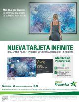 new credit card INIFINITE member priortity pass