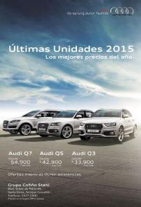 AUDIO 2015 dream luxory cars Vorsprung durch Tecnik