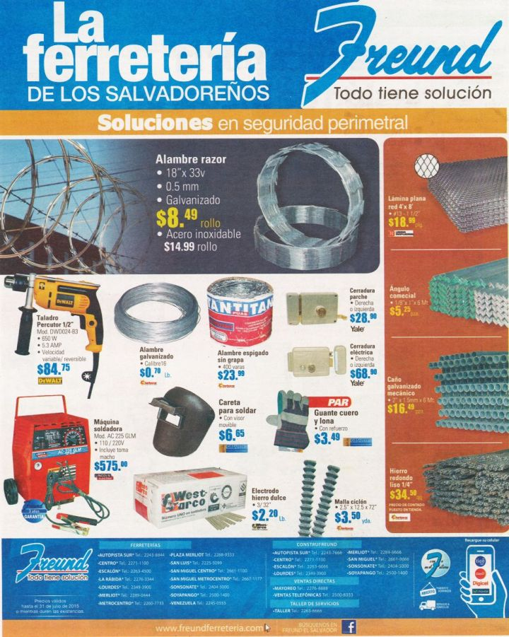 Alambre Razor seguridad perimetral FREUND ferretertia - 13jul15