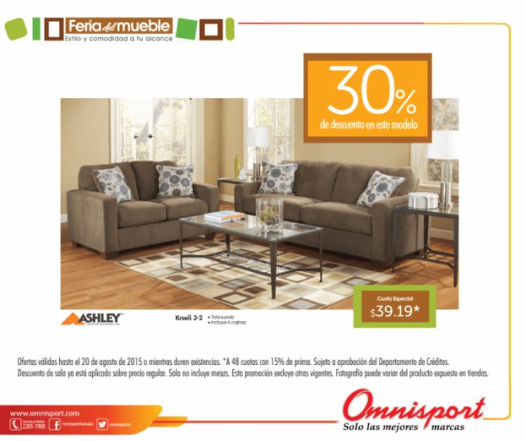 Ashley furniture discounts OMNISPORT feria del mueble