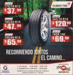 Auto PITS promociones y ofertas en llanta KUMHO TIRES - 13jul15