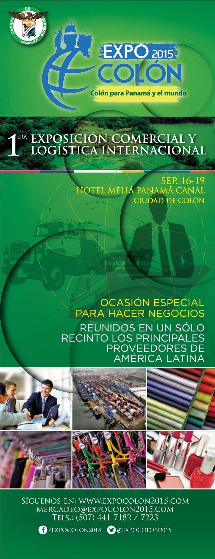 Como hacer negocios en COLON PANAMA expo feria 2015