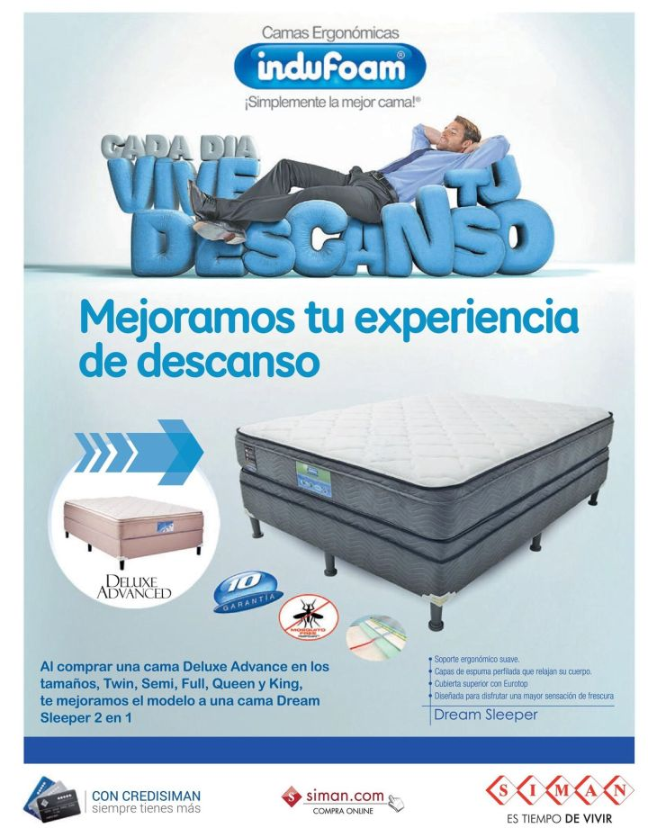 Deluxe advanced REST premium BED stock