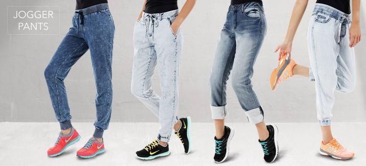 Fashion urban style JOGGER PANTS jeans