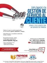 Gestion del servicio al cliente DIPLOMADO gracias a FEPADE