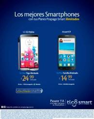 Linea celular TIGO ilimitadas desde 14.99 de dolar
