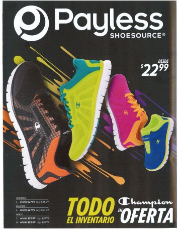 PAYLESS All champions shoes OFFER - pag1