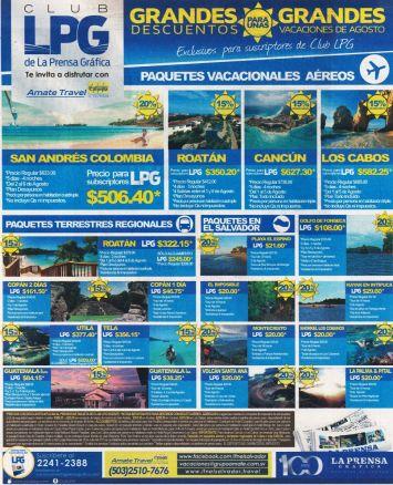 Paquetes vacacionales aereos los mejores destinos de america latina