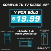 Por la compra de tu TV llevate estos regalos en PRADO