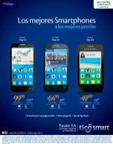 Precios con rebajas en celulares ALCATEL de TIGO