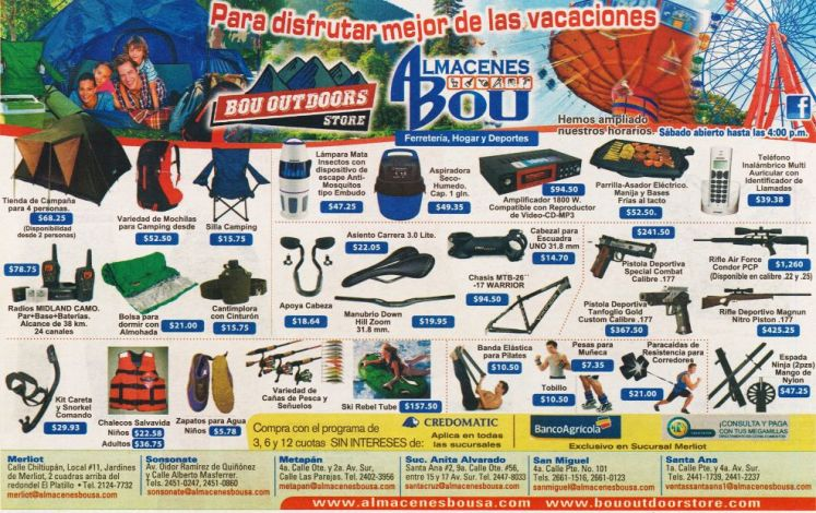 SPORT supplies exercise guns magnum run and more ALMACEN BOU USA imports